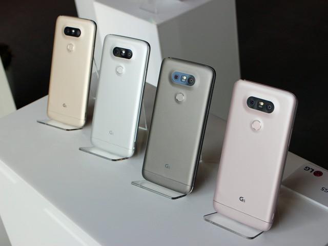 Ngắm LG G5 – smartphone đột phá và độc nhất của năm 2016 - ảnh 2
