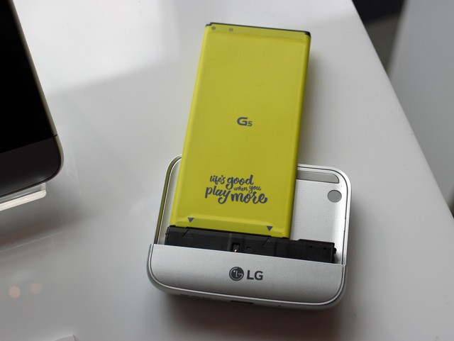 Ngắm LG G5 – smartphone đột phá và độc nhất của năm 2016 - ảnh 14