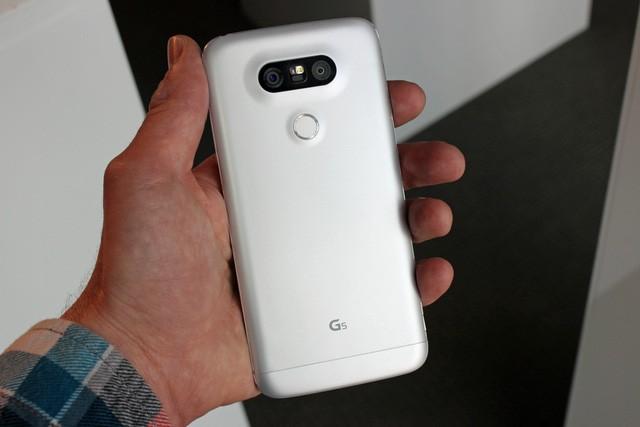 Ngắm LG G5 – smartphone đột phá và độc nhất của năm 2016 - ảnh 4