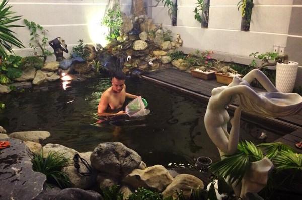 Cận cảnh bể cá cảnh bạc tỷ trong biệt thự của Cao Thái Sơn - ảnh 2