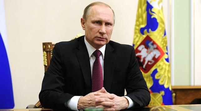 Tổng thống Nga Putin đọc thông điệp về lệnh ngừng bắn Syria - ảnh 1