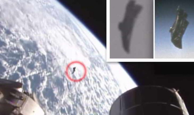 UFO 'lượn lờ' quanh Trạm Vũ trụ Quốc tế ISS - ảnh 1