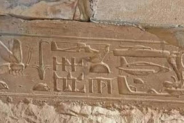 Người Ai Cập cổ đại 'vẽ' được máy bay từ hơn 3.000 năm trước? - ảnh 1