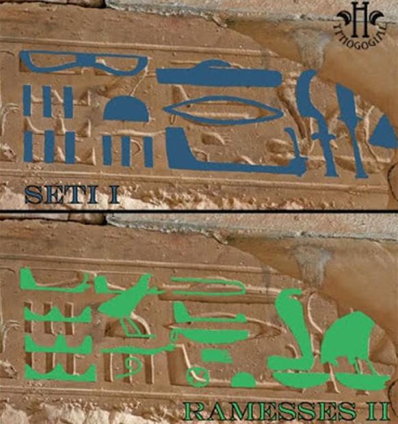 Người Ai Cập cổ đại 'vẽ' được máy bay từ hơn 3.000 năm trước? - ảnh 3