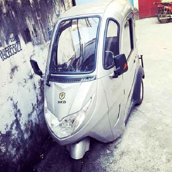 Ô tô điện 'lạ': Ra đường là bị tịch thu - ảnh 1
