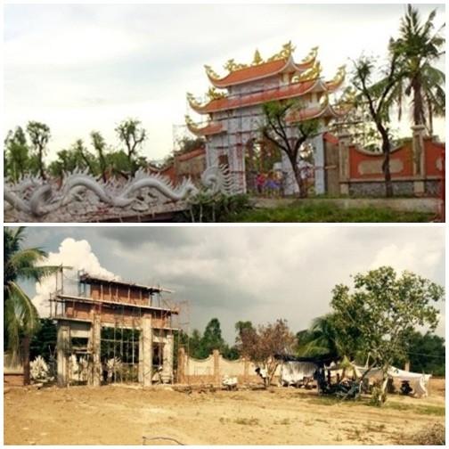 Cận cảnh đền thờ Tổ trăm tỷ đang 'náo loạn dư luận' của Hoài Linh - ảnh 2
