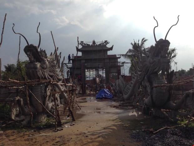 Cận cảnh đền thờ Tổ trăm tỷ đang 'náo loạn dư luận' của Hoài Linh - ảnh 8