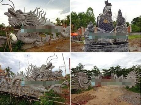 Cận cảnh đền thờ Tổ trăm tỷ đang 'náo loạn dư luận' của Hoài Linh - ảnh 3