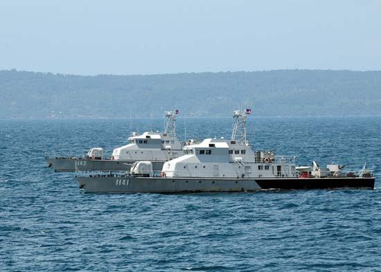 Hải quân Campuchia lần đầu tiên tập trận với Trung Quốc - ảnh 1
