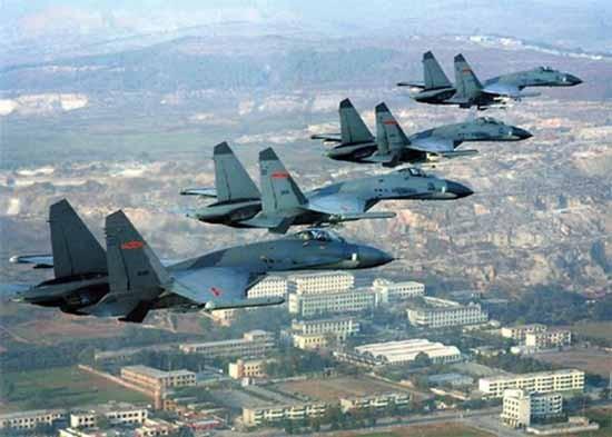 Mỹ tố Trung Quốc đưa chiến đấu cơ tới đảo Phú Lâm - ảnh 1