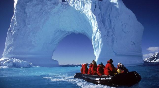 Nhiệt độ đo được tại Nam Cực lên cao kỷ lục 17,8 độ C - ảnh 1