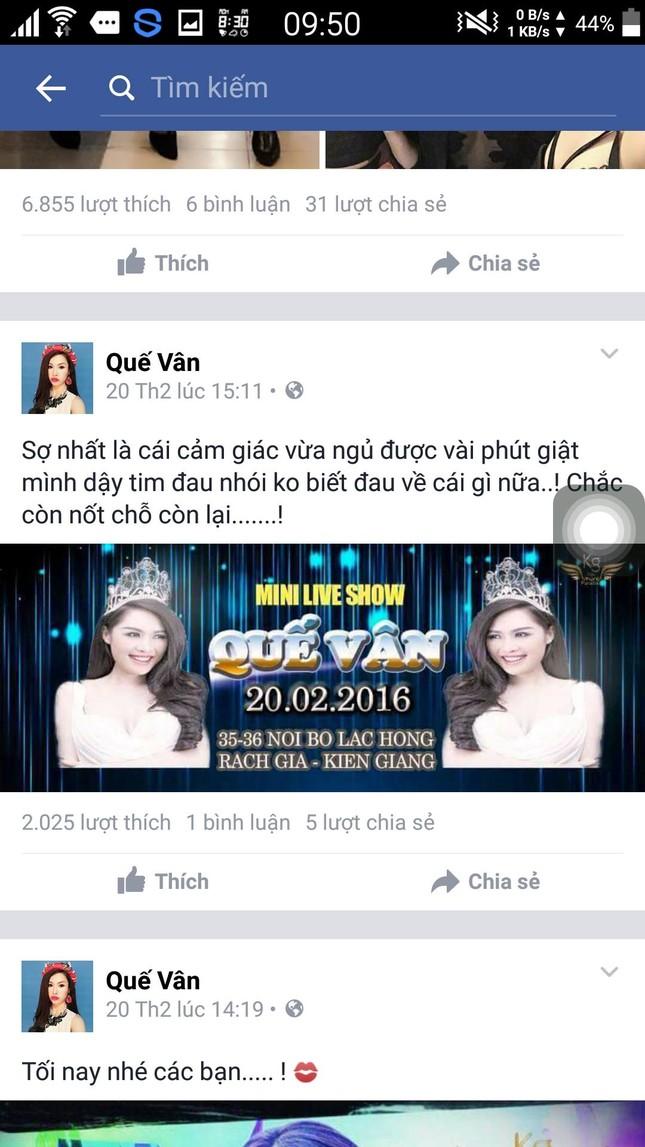 Quế Vân 'khoe' đắt show sau scandal với Trường Giang - ảnh 2