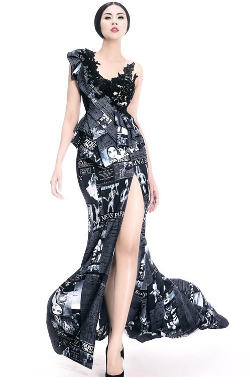 Ngọc Hân diện thời trang 'giấy báo' cực chất khoe vẻ quyến rũ - ảnh 11