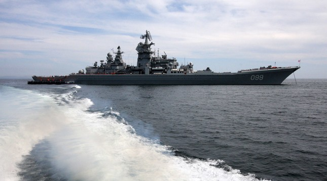 Tuần dương hạm Peter Đại Đế sẽ được trang bị tên lửa siêu thanh - ảnh 1