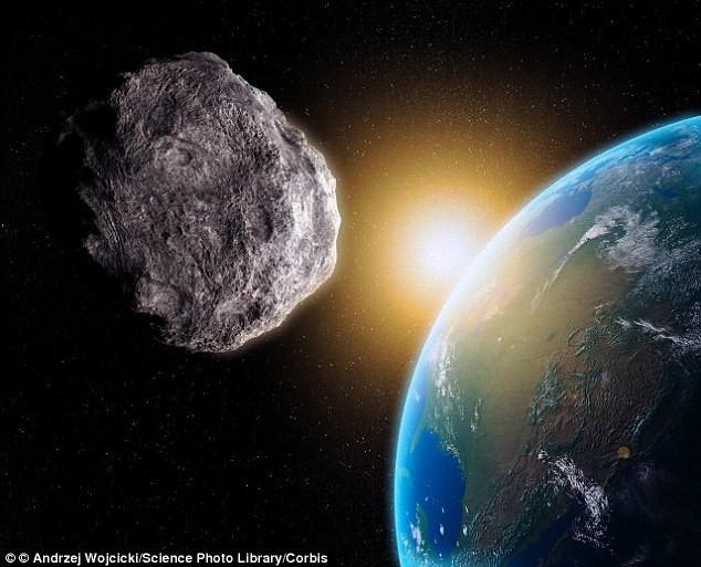 Thiên thạch có sức nổ như bom nguyên tử rơi xuống Đại Tây Dương - ảnh 1