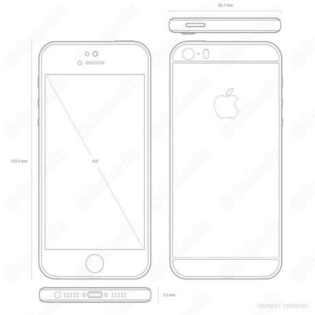 Hình ảnh về iPhone 5SE mới nhất bất ngờ bị rò rỉ - ảnh 3