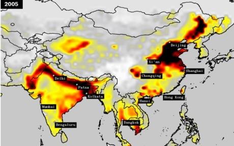 Vượt Trung Quốc, Ấn Độ trở thành quốc gia ô nhiễm nhất thế giới - ảnh 2