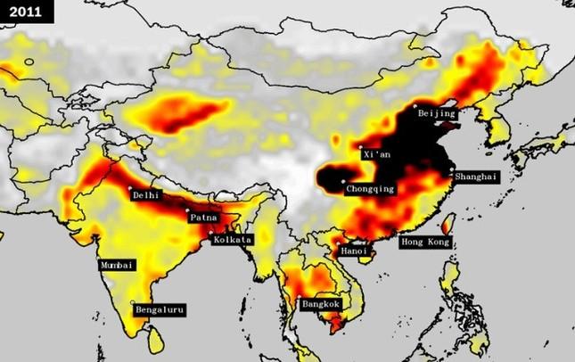 Vượt Trung Quốc, Ấn Độ trở thành quốc gia ô nhiễm nhất thế giới - ảnh 3
