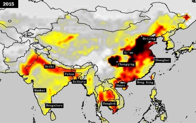 Vượt Trung Quốc, Ấn Độ trở thành quốc gia ô nhiễm nhất thế giới - ảnh 4