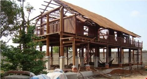 Tạm đình chỉ nhà thờ Tổ của Hoài Linh vì xây dựng không phép - ảnh 1