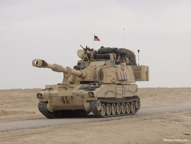 Sức mạnh của lựu pháo Hiệp sĩ Mỹ có thể điều đến Biển Đông - ảnh 4