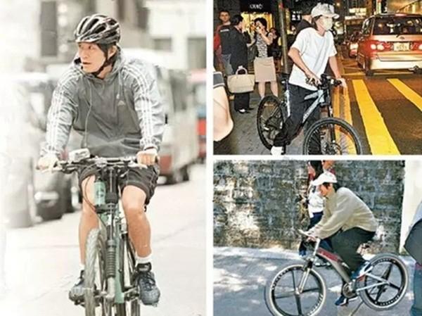 Châu Tinh Trì - 'quái nhân' thích rong ruổi trên phố với xe đạp - ảnh 5