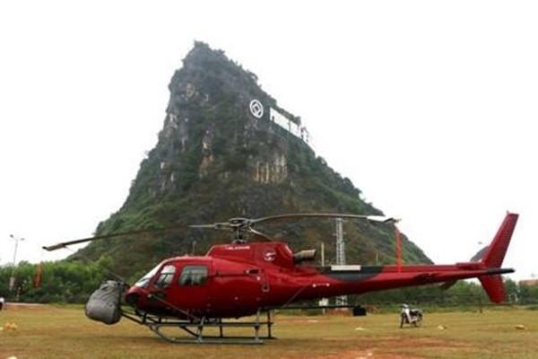 Cận cảnh máy bay rơi ở phim trường King Kong 2 tại Quảng Bình - ảnh 4