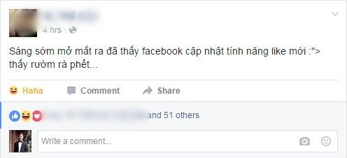 Hôm nay, cư dân Facebook Việt được bấm nút hỉ, nộ, ái, ố - ảnh 2