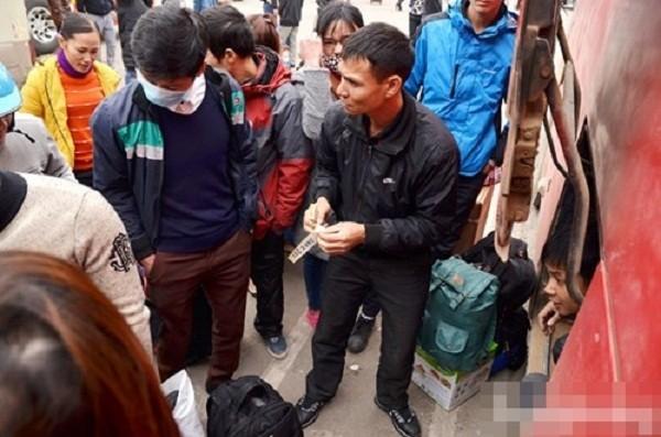 Hàng nghìn người chật vật rời Thủ đô dịp Tết Nguyên đán - ảnh 2