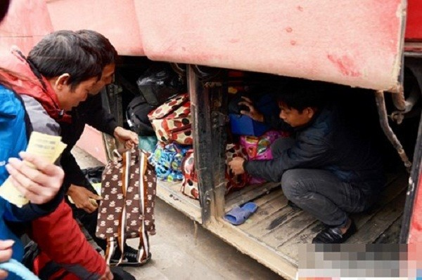 Hàng nghìn người chật vật rời Thủ đô dịp Tết Nguyên đán - ảnh 3