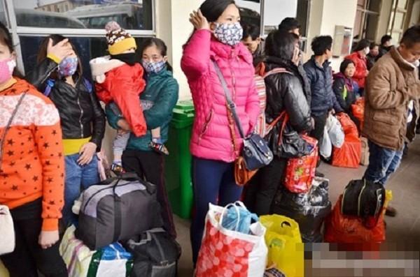 Hàng nghìn người chật vật rời Thủ đô dịp Tết Nguyên đán - ảnh 6