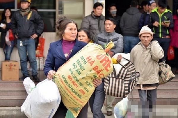 Hàng nghìn người chật vật rời Thủ đô dịp Tết Nguyên đán - ảnh 8