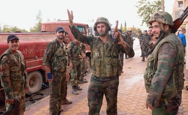 Quân đội Syria giải phóng hai thị trấn chiến lược ở Aleppo - ảnh 1