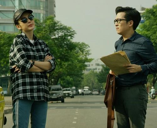 """Angela Phương Trinh """"khóa môi"""" Trường Giang trong phim mới - ảnh 3"""