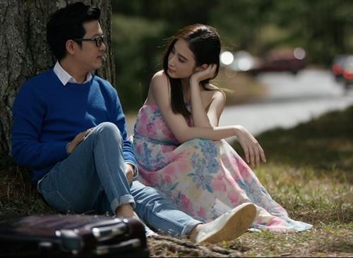 """Angela Phương Trinh """"khóa môi"""" Trường Giang trong phim mới - ảnh 5"""