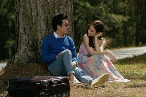 """Angela Phương Trinh """"khóa môi"""" Trường Giang trong phim mới - ảnh 9"""