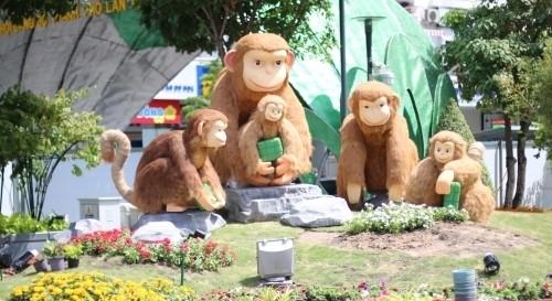 Hôm nay khai mạc đường hoa Tết Nguyễn Huệ tại TP.HCM - ảnh 1