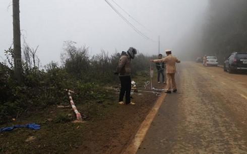 Xe Phó Bí thư huyện Phong Thổ, Lai Châu lao xuống vực sâu 100m - ảnh 1