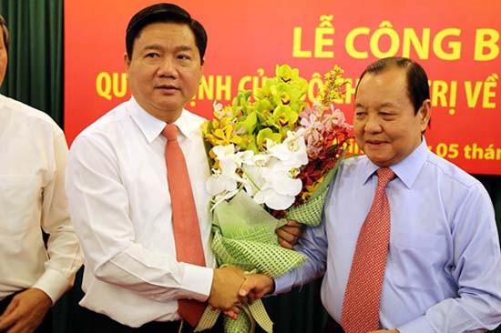 Ông Đinh La Thăng nói gì sau khi vào TP.HCM nhận chức vụ mới? - ảnh 1