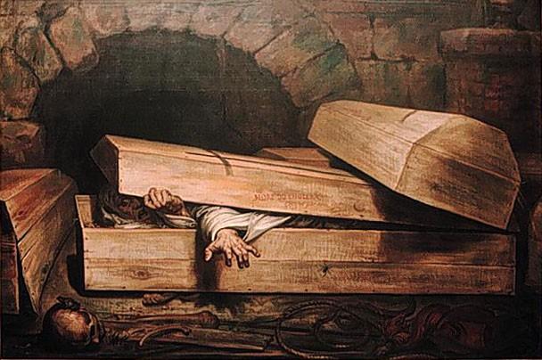 Kỳ lạ những người sống sót sau khi bị chôn sống - ảnh 1
