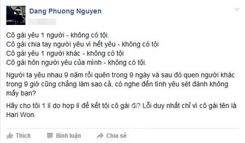 'Hari Won đã trúng tiếng sét ái tình từ Trấn Thành' - ảnh 1