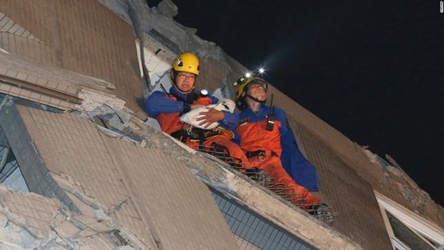 Đài Loan tan hoang sau trận động đất ngay trước thềm năm mới - ảnh 5