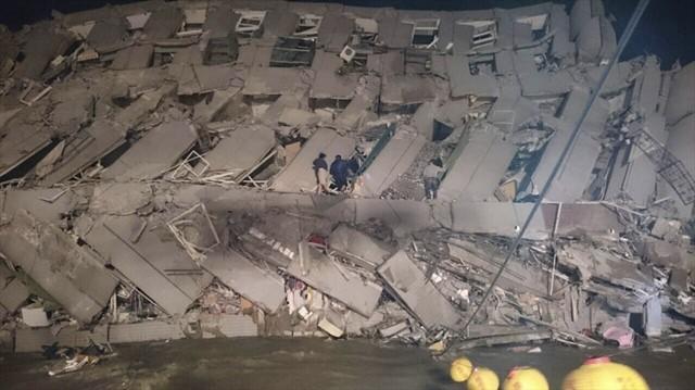 Đài Loan tan hoang sau trận động đất ngay trước thềm năm mới - ảnh 8