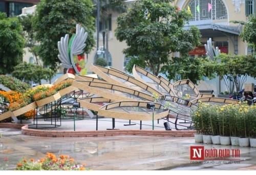 Đường hoa Nguyễn Huệ ngập tràn sắc xuân ngày khai hội - ảnh 29
