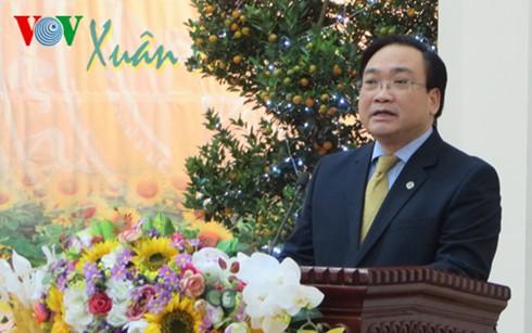 Bí thư Thành ủy Hoàng Trung Hải chúc Tết lực lượng vũ trang  - ảnh 2