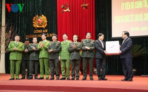 Bí thư Thành ủy Hoàng Trung Hải chúc Tết lực lượng vũ trang  - ảnh 3