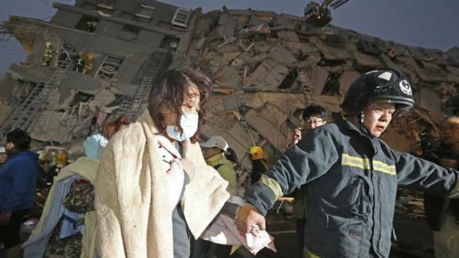 Xác định có 11 người chết trong vụ động đất ở Đài Loan - ảnh 1