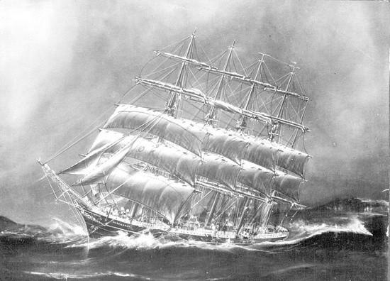 Bí ẩn vụ tàu buồm lớn nhất thế giới mất tích  - ảnh 1
