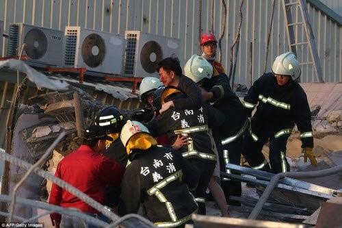 Động đất 6,4 độ richter làm rung chuyển Đài Loan - ảnh 2