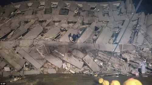 Động đất 6,4 độ richter làm rung chuyển Đài Loan - ảnh 4